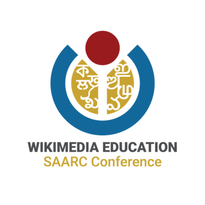 Wikimedia Education SAARC logo