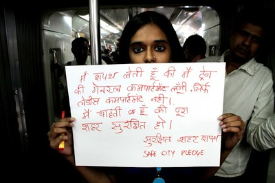 Safe City Pledge - Delhi