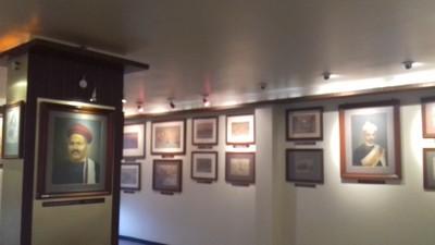 Art_gallery_at_Apte_vachan_mandir,_Ichalkaranji