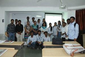 Marathi Wikipedia Workshop at MGM Trust's College of Journalism and Mass Communication, Aurangabad