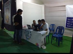 Telugu Wikipedia Stall at Rajahmundry Book Fair
