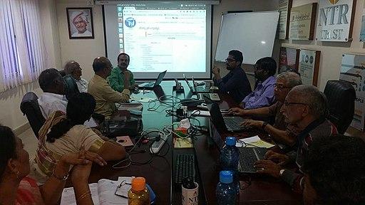 Telugu Wikisource Workshop