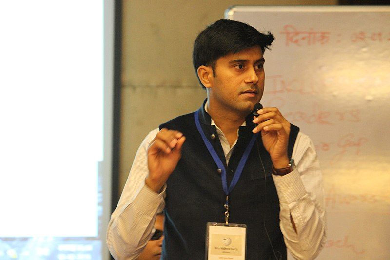 Indic Wikisource speak : Ajit Kumar Tiwari