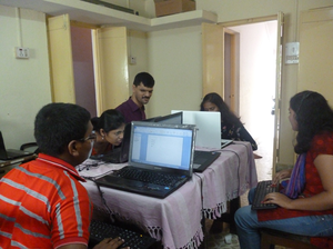 Training in eSpeak Marathi