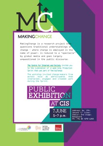 Production Sprint — A Public Exhibition at CIS