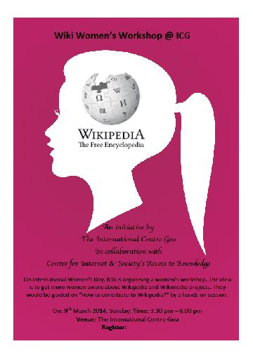 Wiki Women's Workshop