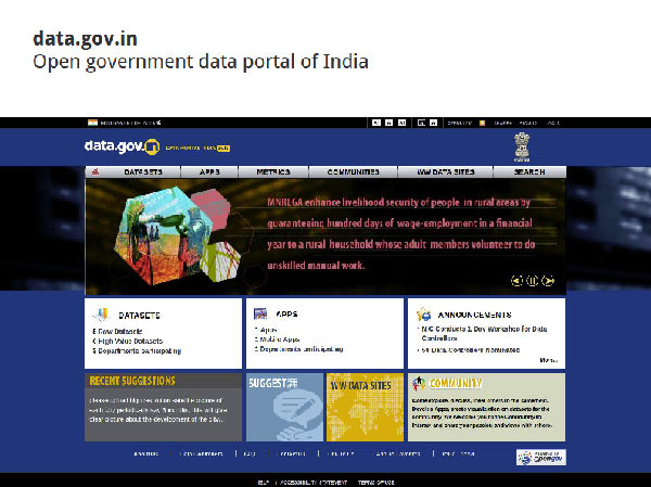 Open Government Data India