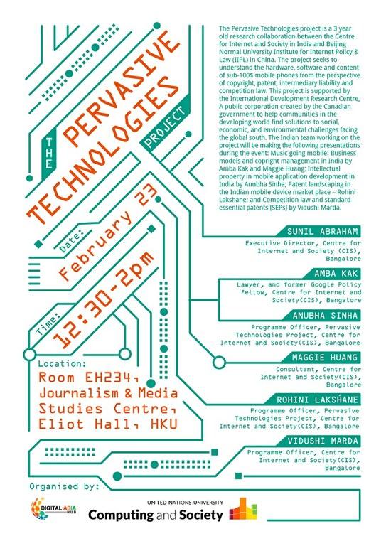 Pervasive Technologies