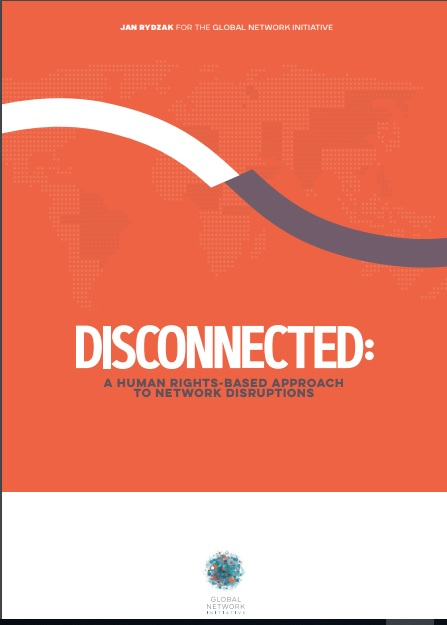Network Disruptions Report by Global Network Initiative