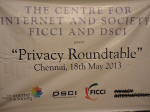 Report on the 3rd Privacy Round Table meeting