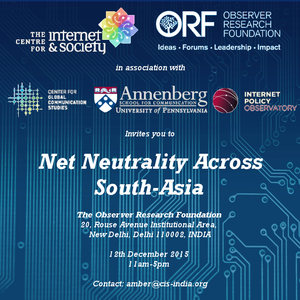 Net Neutrality across South Asia