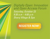 Digitally Open: Innovation and Open Access Forum
