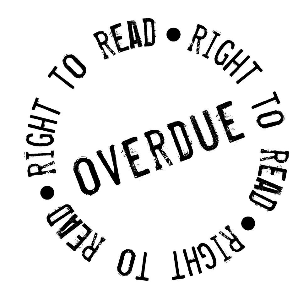 Lawyers get socially involved: The Right to Read
