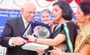 Nirmita receives NIVH Award