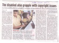 The disabled also grapple with copyright issues