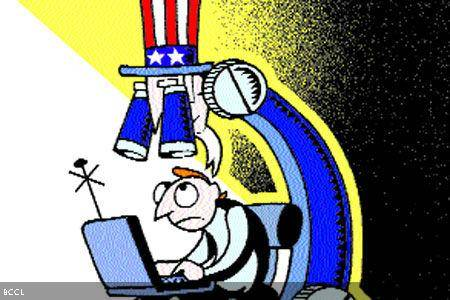 Internet users enraged over US online spying