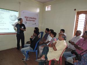 A Kannada Wikipedia Workshop at Krishnarajapet