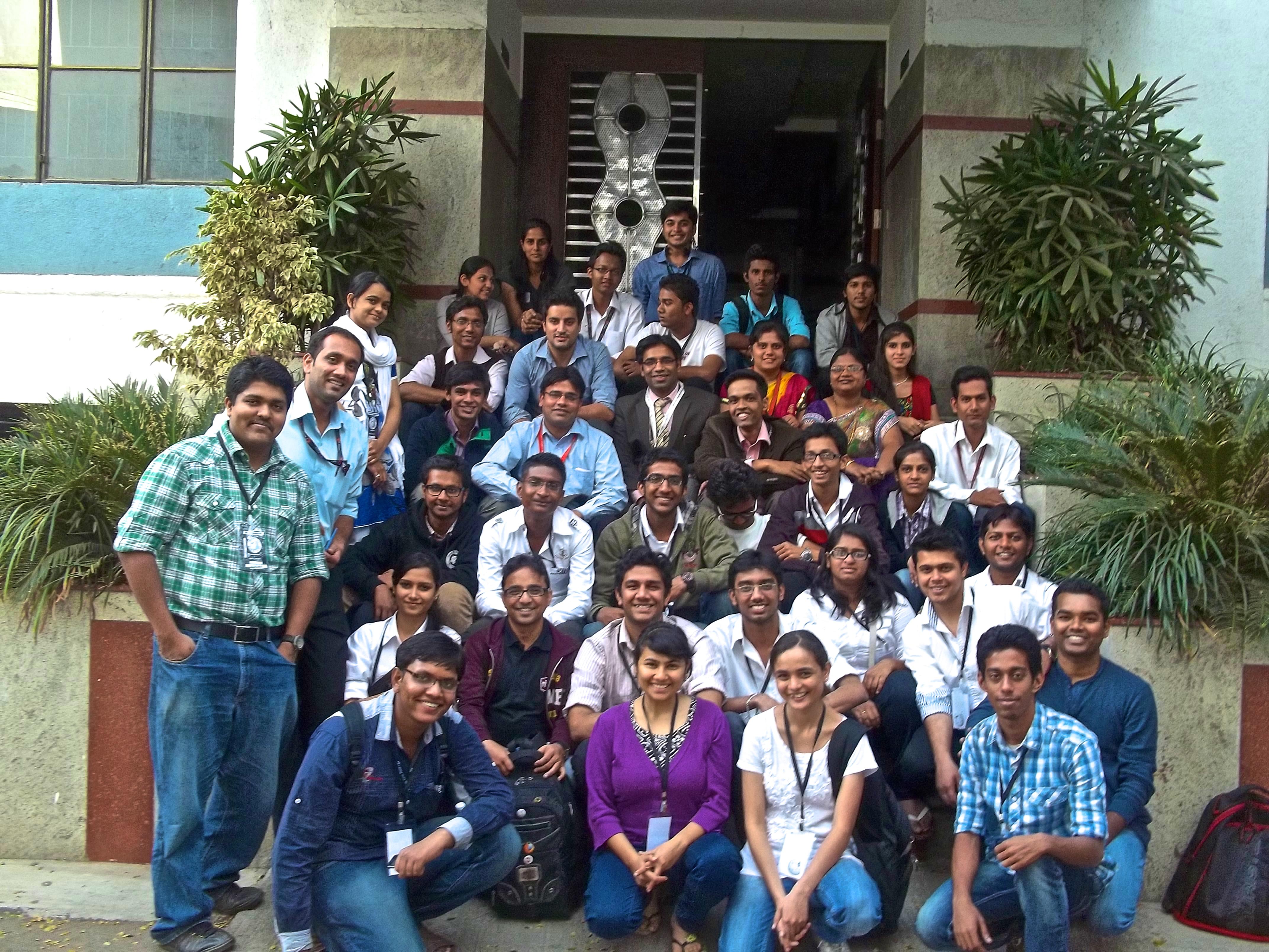 Celebrating the success of Wikipedia in Wikipedia Summit Pune 2013
