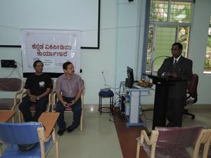 A Kannada Wikipedia Workshop in Mysore