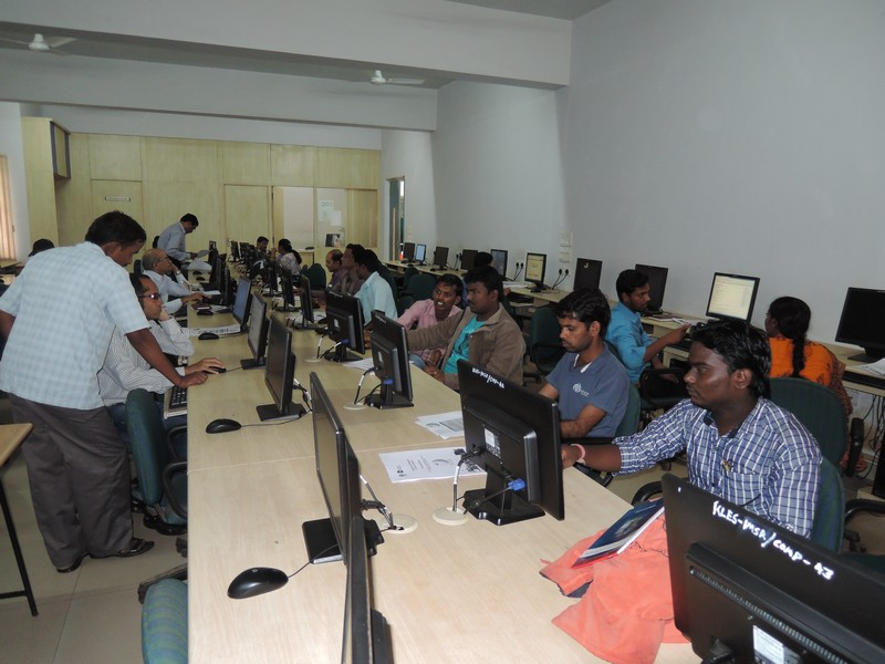 A Kannada Wikipedia Workshop at Hubli