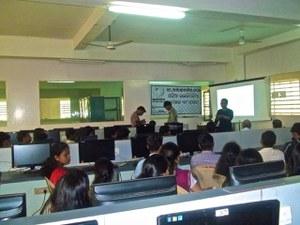 An Odia Wikipedia Workshop at KMBB College, Bhubaneswar