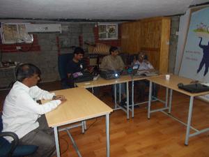 A Telugu Wiki Meetup @ CIS, Bangalore