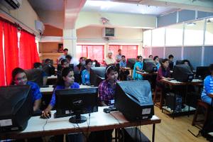 Wikipedia in St. Xavier's College, Mapusa, Goa