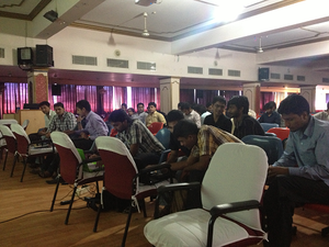 A Wikipedia Workshop at SRM University, Chennai