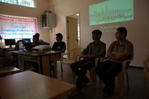Kannada Wiki Workshop at Tumkur University