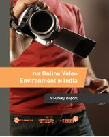 The Online Video Environment in India - A Survey Report