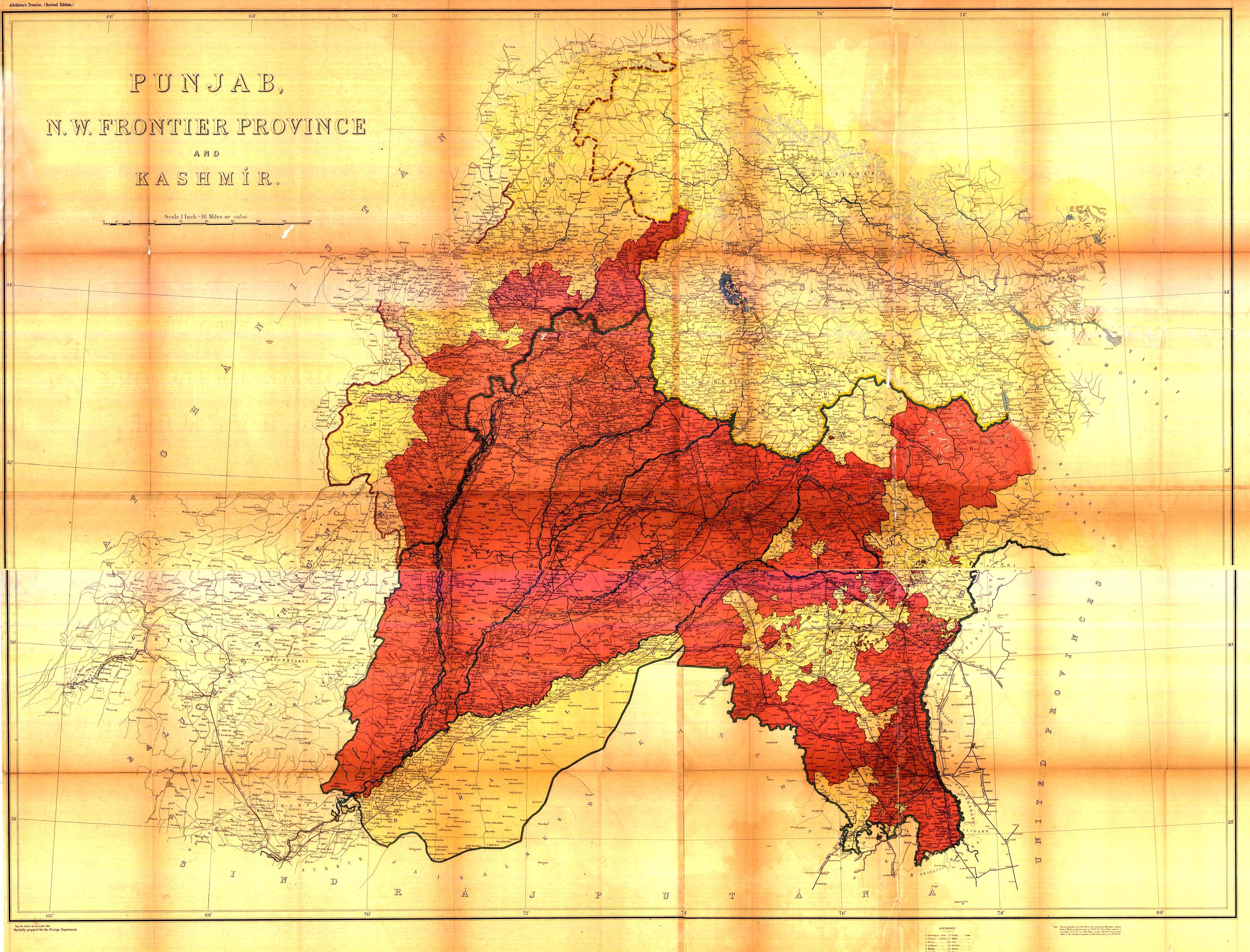 border map delhi archives